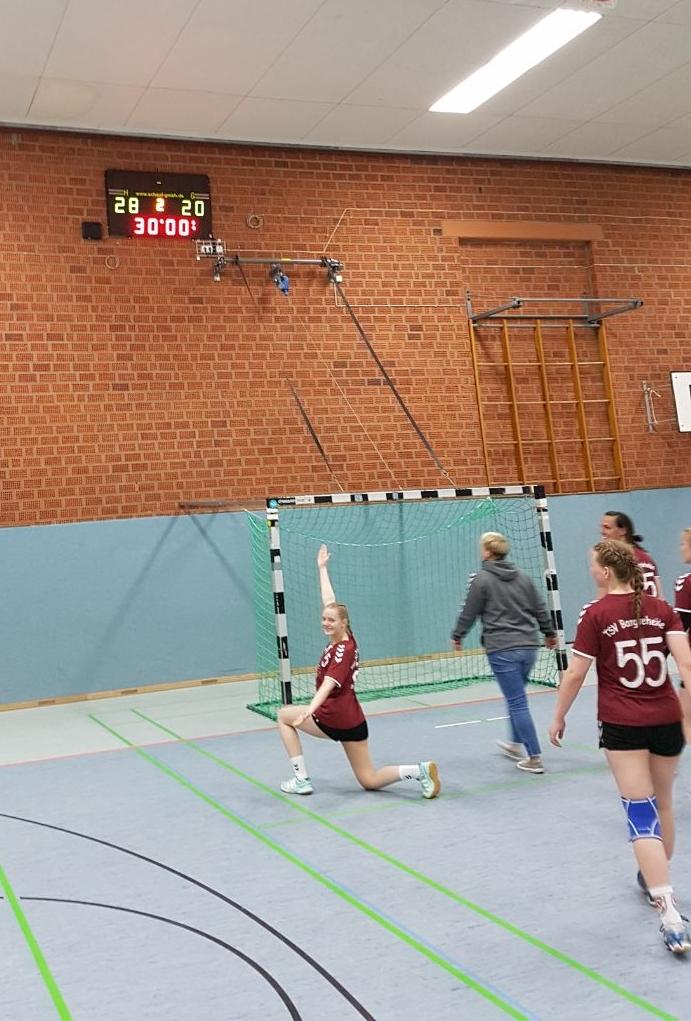 Perfekter Saisonabschluß der Damen! - Handball-Bargteheide