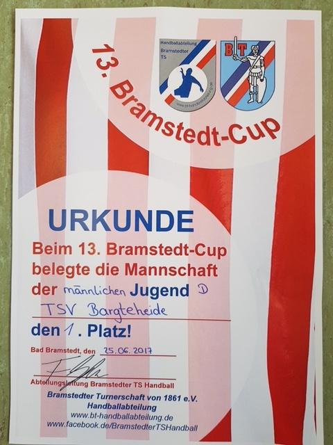 MJD: Bramstedt Cup - Handball-Bargteheide