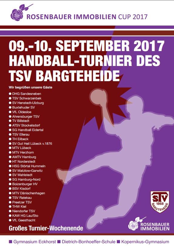 Rosenbauer Immobilien Cup 2017 - Handball-Bargteheide