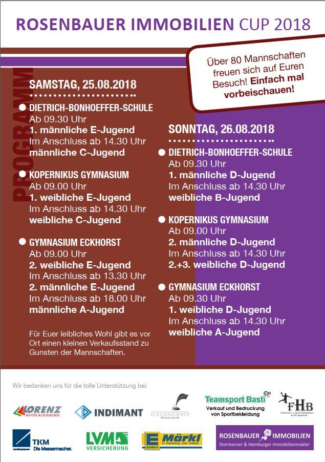 Rosenbauer Immobilien Cup 2018 - Handball-Bargteheide
